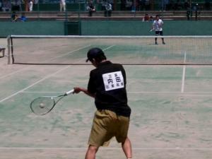 ソフトテニス全日本シングルス選手権2016@奈良県明日香庭球場