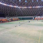 滋賀県中学ソフトテニス夏季大会に行って来ました。
