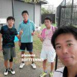 プラスワン・ソフトテニス練習会 2016/09/03(土)午前