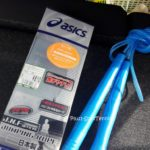 ソフトテニスのトレーニング用に縄跳びを買いました。