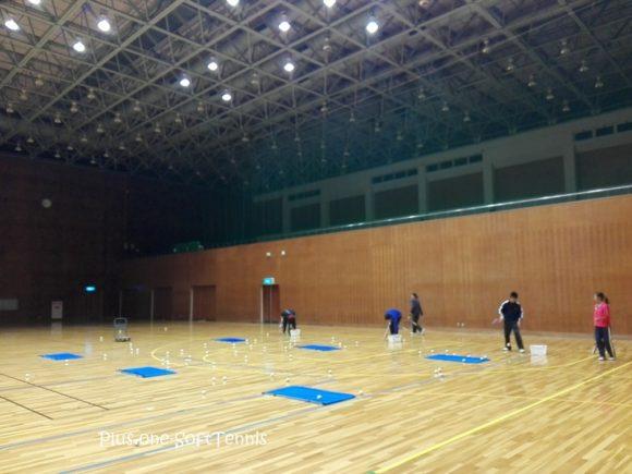 プラスワン・ソフトテニス練習会 2016/11/29(火)