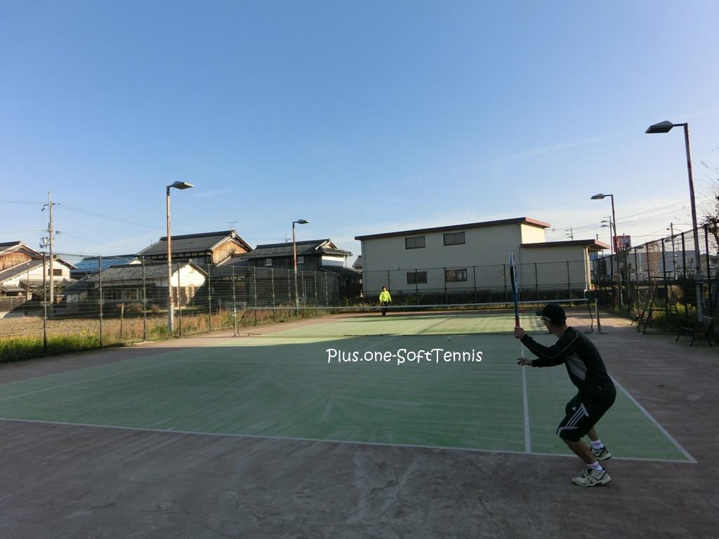 プラスワン・ソフトテニス練習会 2016/12/3(土)