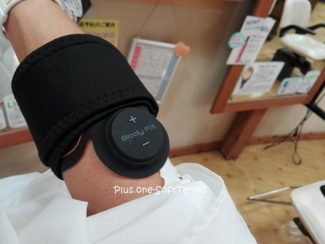 美容室Beetle近江八幡店でBODY REVOLUTION SIX PADの試用をしました。