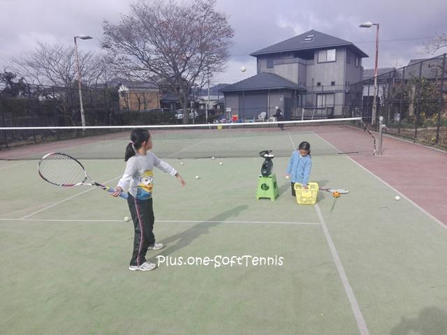 プラスワン・ソフトテニス 未経験~の練習会 2016/12/10(土)