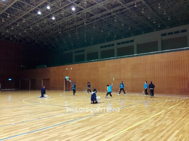 プラスワン・ソフトテニス練習会 2016/12/13(火)