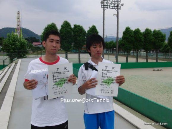福井県越前市笠原杯争奪ソフトテニス大会2010