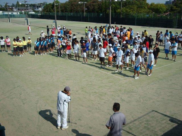 滋賀県ソフトテニスクラブ対抗戦・秋2009