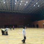 ソフトテニス練習会 2017/02/11(土)