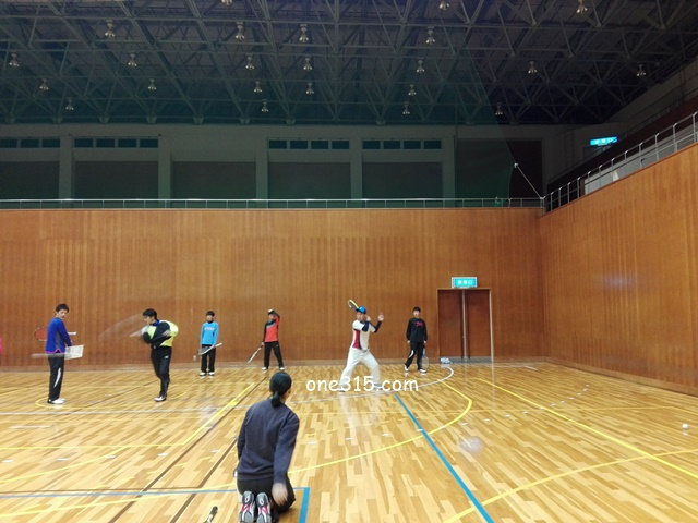 ソフトテニス練習会 2017/02/25(土)