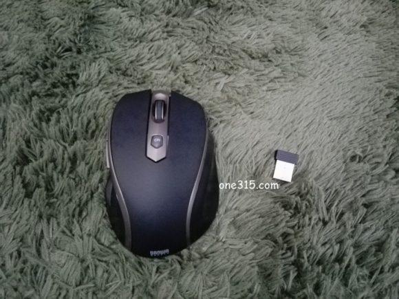 サンワサプライのワイヤレスマウス(MA-WBL35BK)