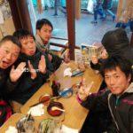 ソフトテニスな関東遠征に行って来ました。三日目は東京赤羽で親睦会。2017/03/26