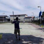 2017/05/17(水) ソフトテニス練習会