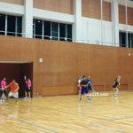 2017/07/04(火) ソフトテニス練習会@滋賀県近江八幡市