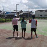 ソフトテニス・個別練習会 2017/08/16(水) 午前