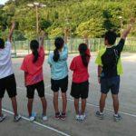 ソフトテニス個別練習会 2017/08/19(土)