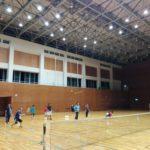 2017/12/12(火) ソフトテニス練習会@滋賀県近江八幡市