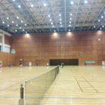 2017/11/14(火) ソフトテニス練習会@滋賀県近江八幡市