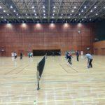 2017/12/5(火) ソフトテニス練習会@滋賀県近江八幡市