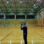 2017/12/4(月)ソフトテニス練習会(トリプルソフトテニス)@滋賀県近江八幡市