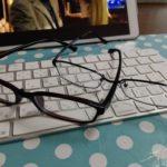 家用のメガネを買いました。