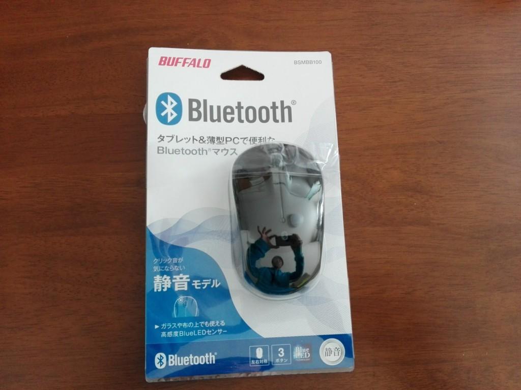 マウス BUFFALO Bluetooth静音マウス(BSMBB100)