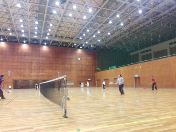 2017/12/26(火) ソフトテニス練習会@滋賀県近江八幡市
