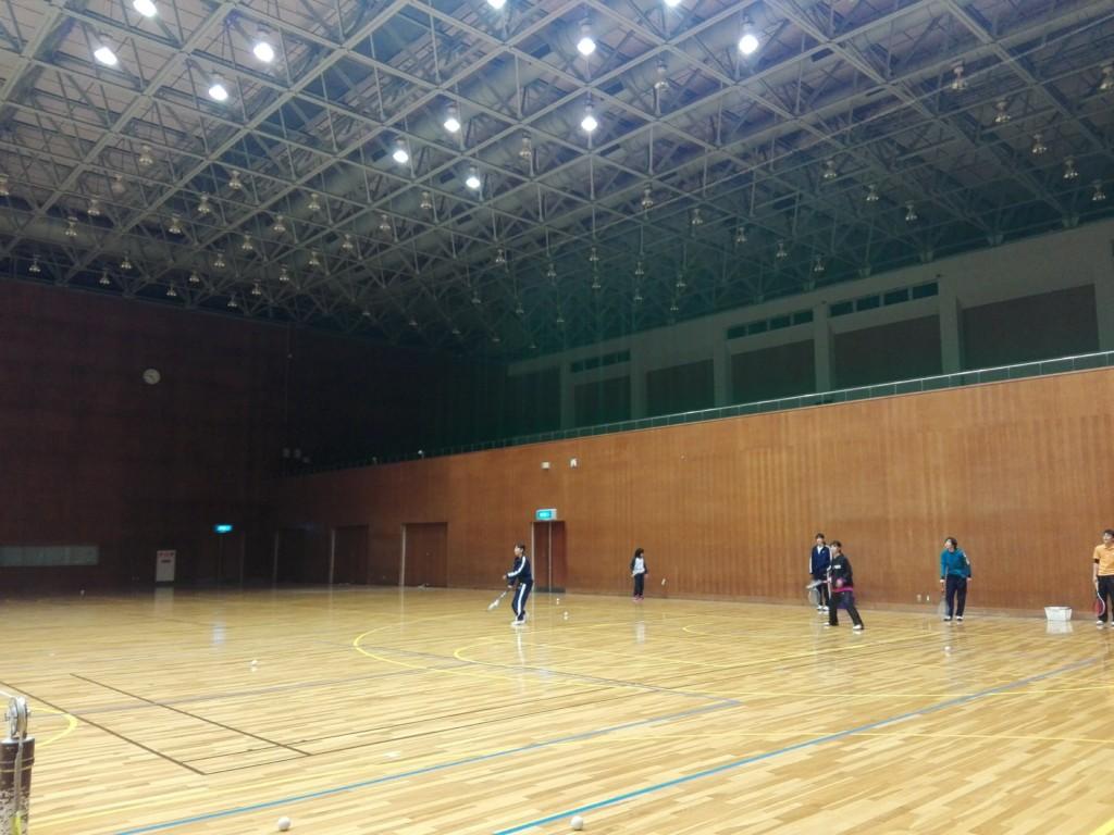 2018/01/20(土)夜間 ソフトテニス・初心者練習会