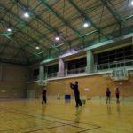 2018/02/05(月)夜間 ソフトテニス練習会@滋賀県近江八幡市