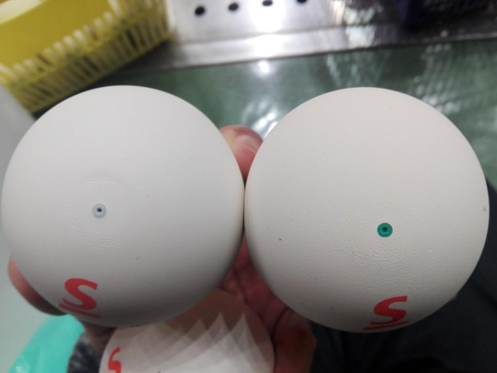 2018/02/24(土) ソフトテニスボール スリクソンボールを5ダース買いました。