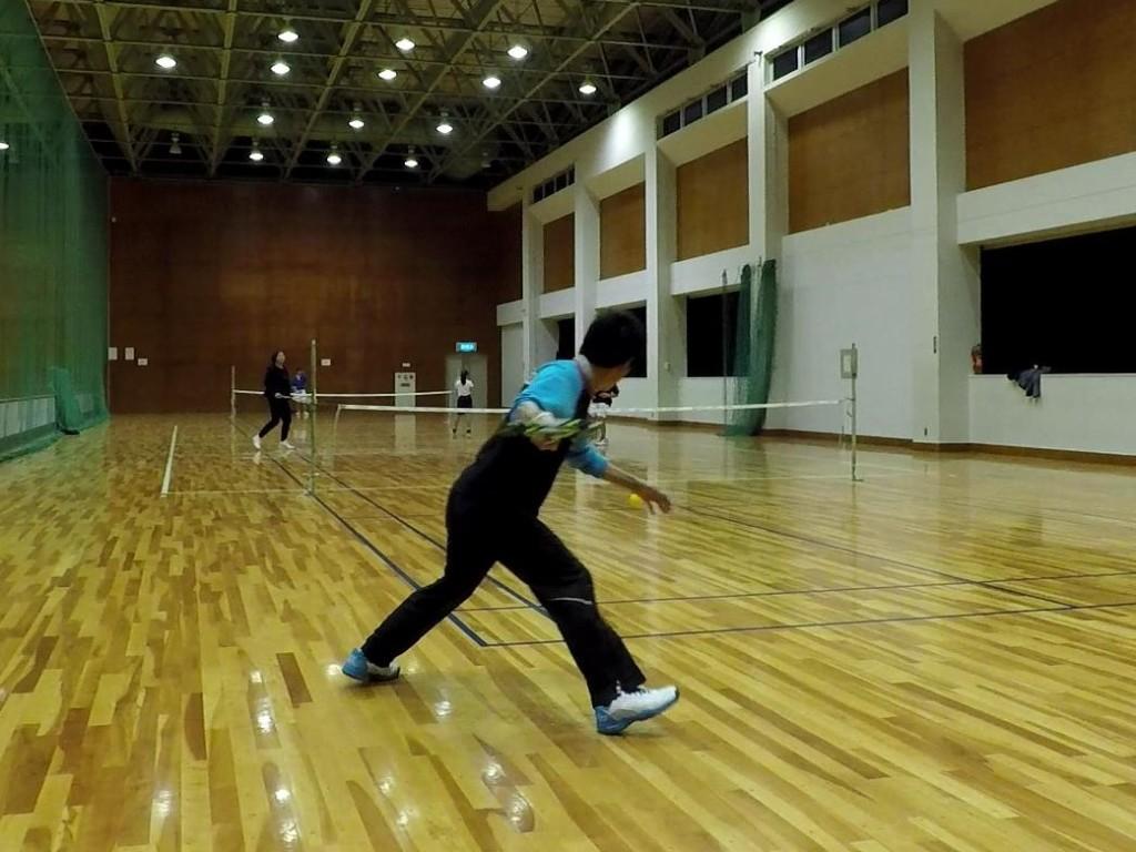2018/03/14(水) スポンジテニス練習会@滋賀県(ショートテニス 、フレッシュテニス)
