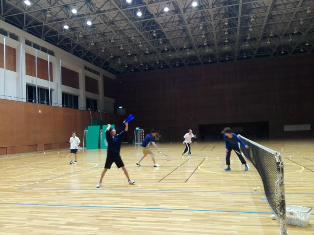 2018/04/14(土)夜間 プラスワン・ソフトテニス練習会/初心者~
