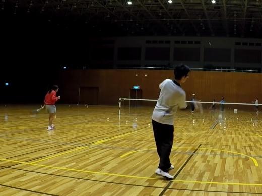 2018/04/07(土)夜間 プラスワン・ソフトテニス練習会/初心者~