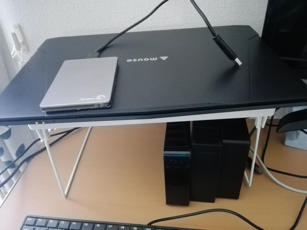 パソコンが修理から帰ってきました。マウスコンピューター