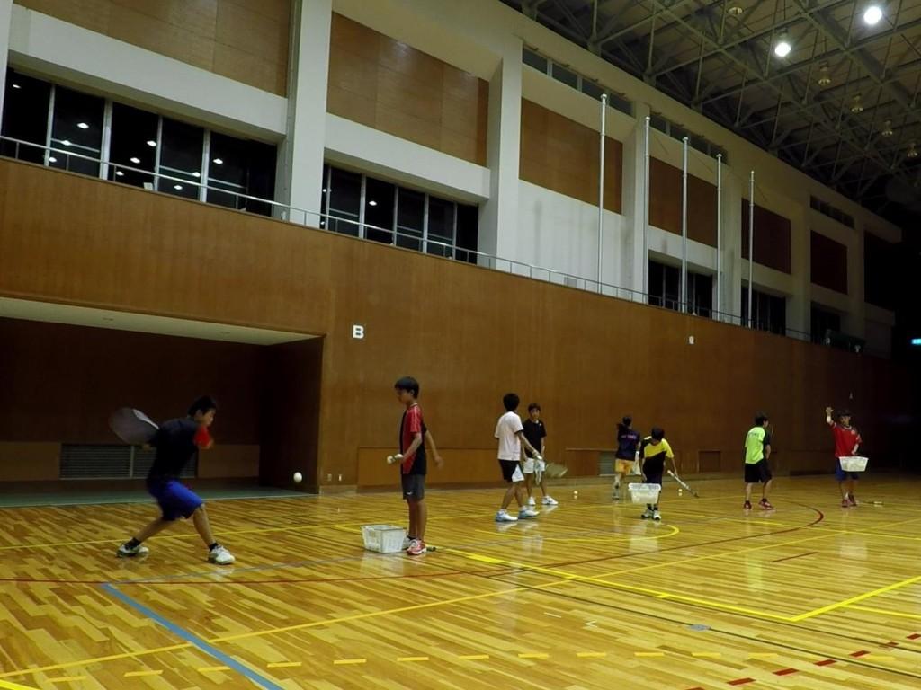 2018/05/28(月) プラスワン・ソフトテニス練習会