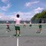 2018/06/30(土)午前 未経験者からの練習会 プラスワン・ソフトテニス