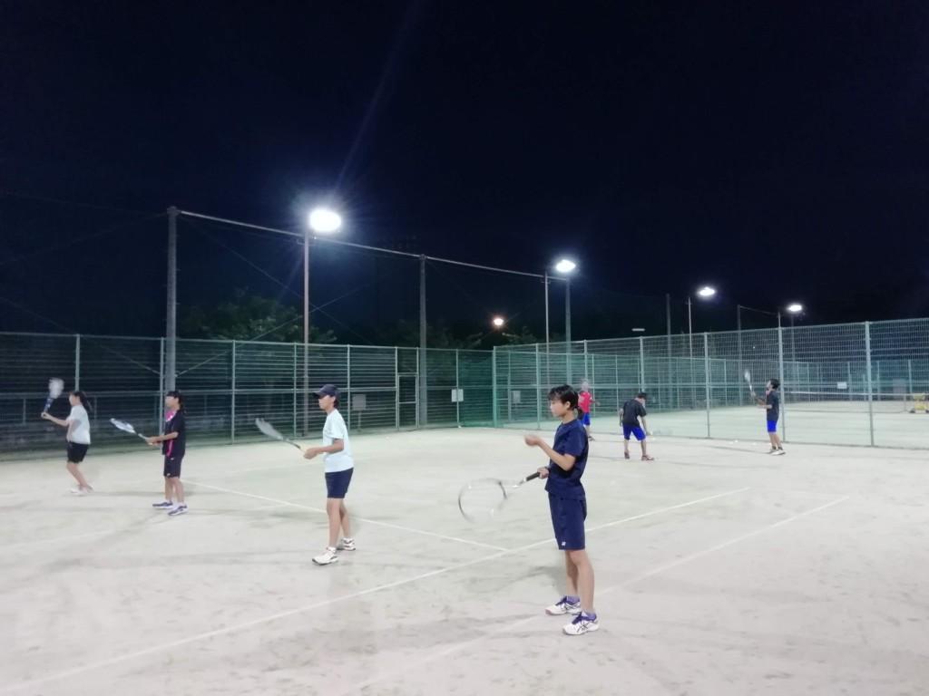 2018/07/13(金) プラスワン・ソフトテニス練習会
