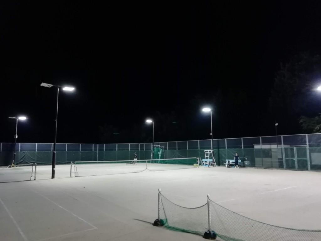 2018/07/19(木)夜間 出張個別練習会@大津市 プラスワンソフトテニス