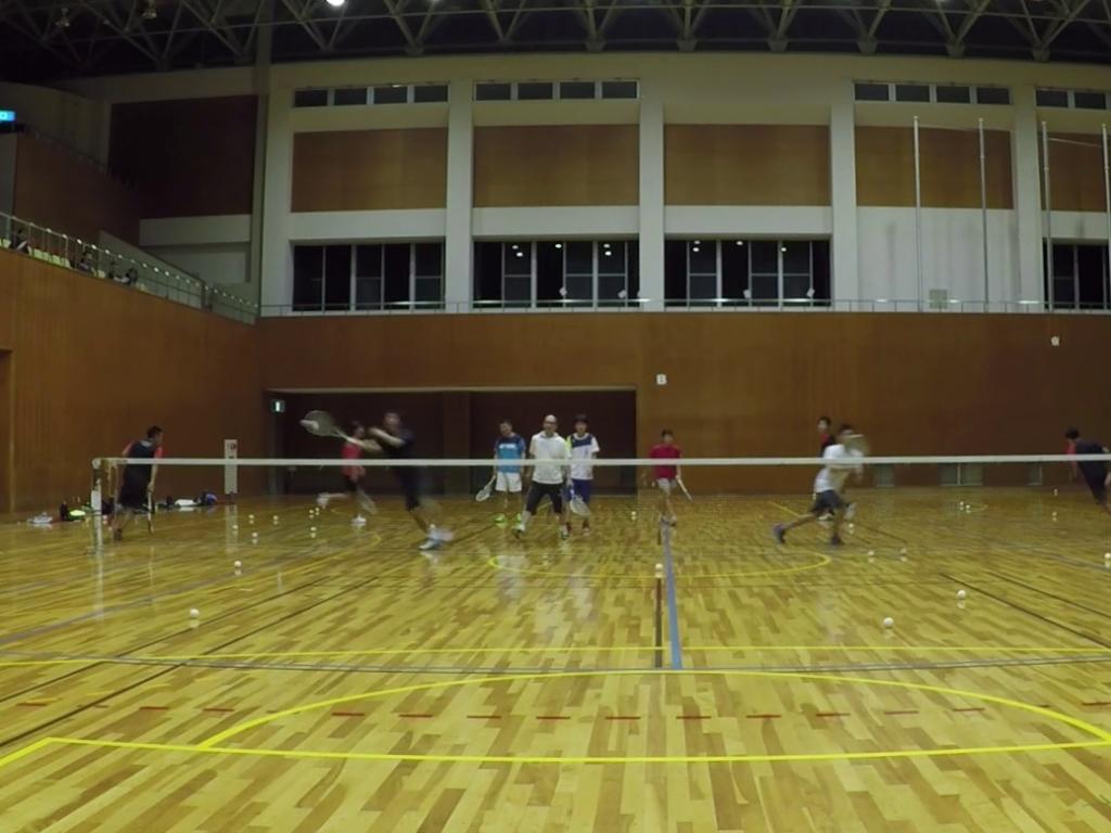 2018/07/09(月) プラスワン・ソフトテニス練習会