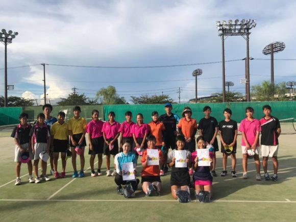 2018/08/14(火) クラブ親睦ソフトテニスサマーカップ2018