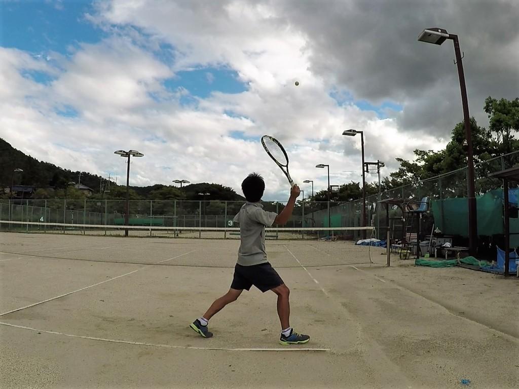 2018/08/24(金)夕方 出張個別練習会@滋賀県近江八幡市 プラスワン・ソフトテニス