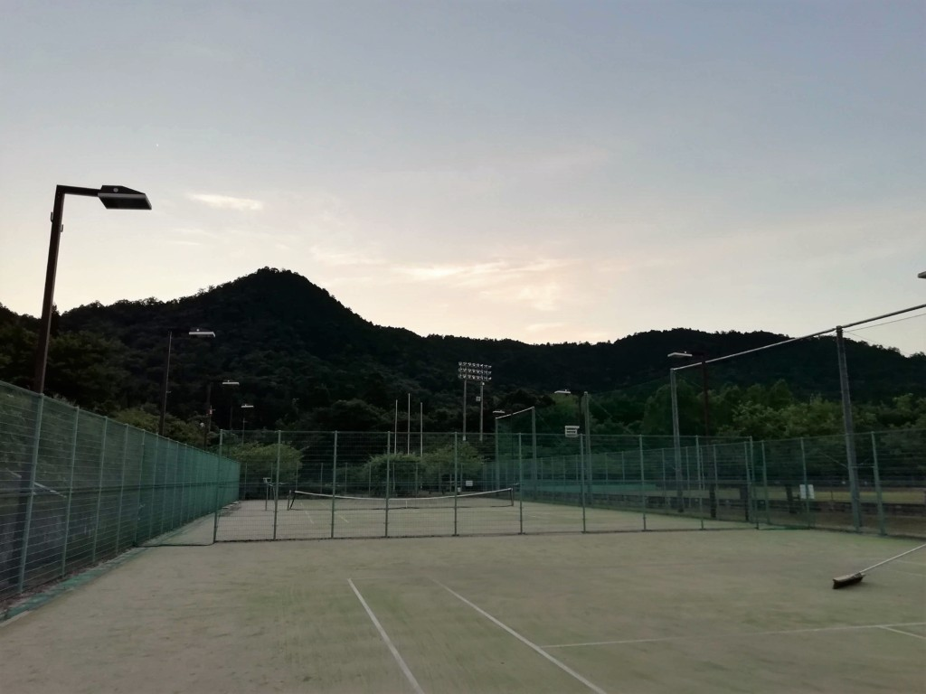 20180803(金) 出張個別練習会@滋賀県東近江市 プラスワン・ソフトテニス