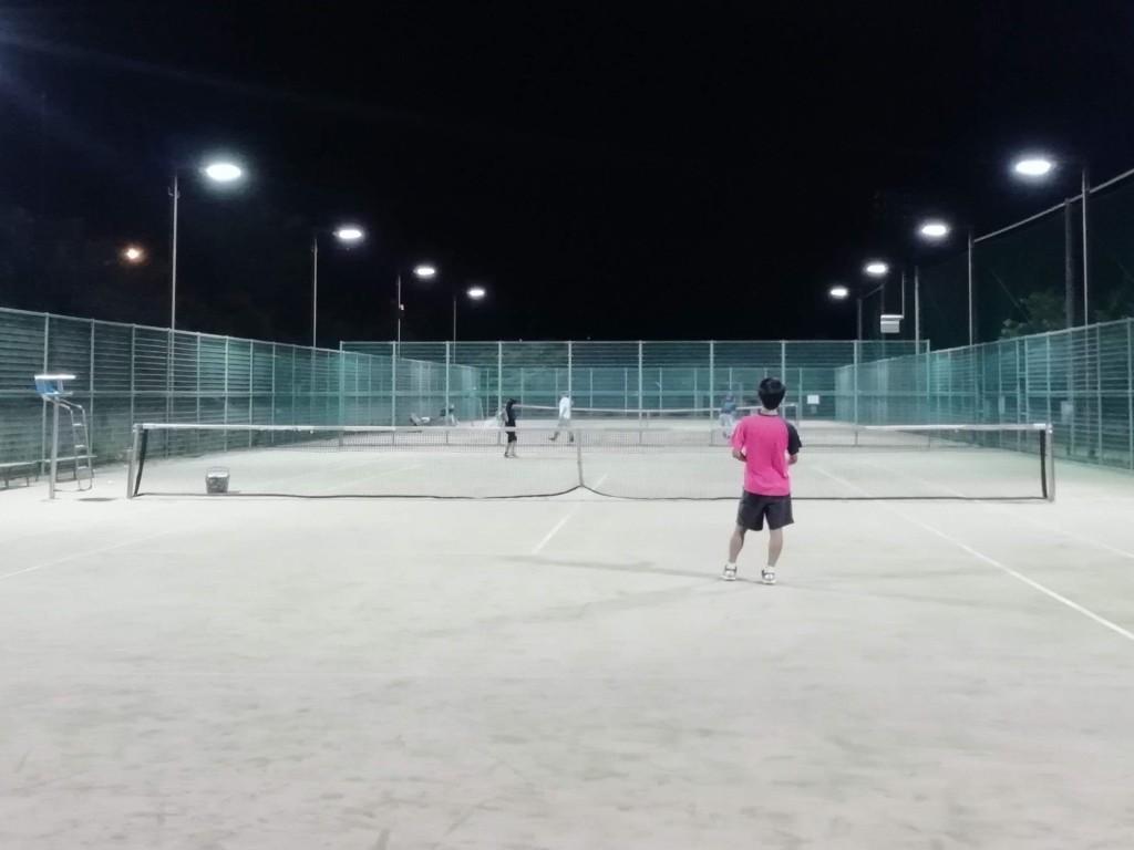 2018/07/14(土)夜間 初心者練習会 プラスワン・ソフトテニス