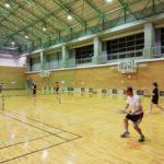 2018/09/12(水) スポンジテニス練習会 プラスワン・ソフトテニス