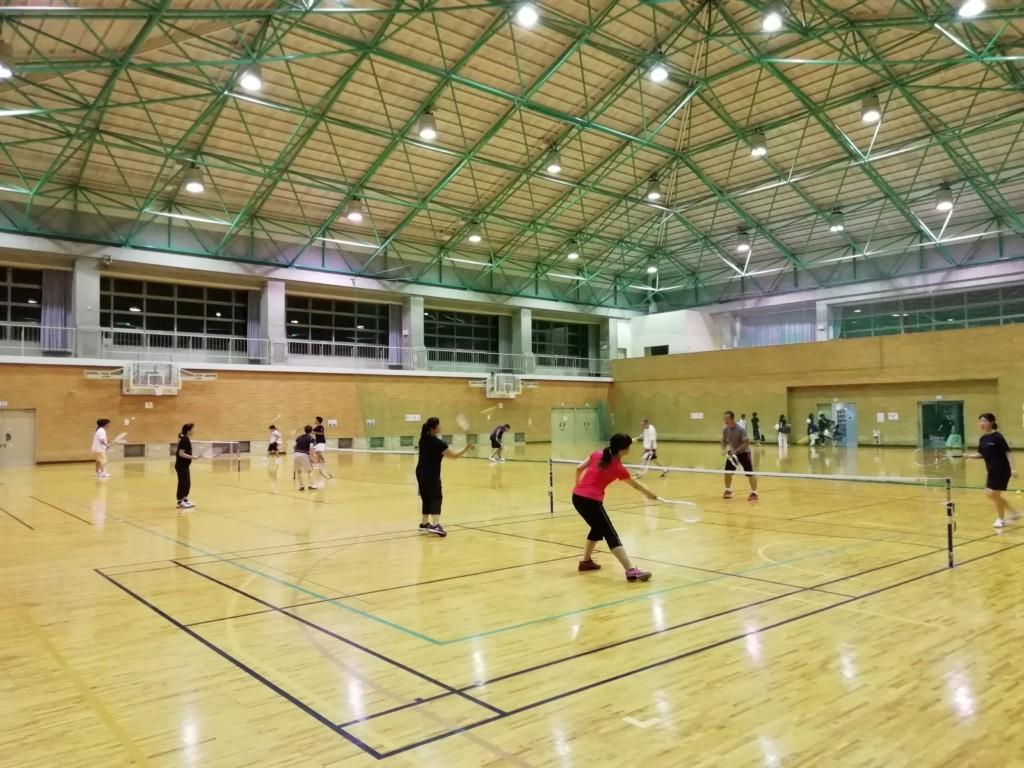 2018/08/08(水) プラスワン・スポンジテニス練習会