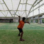 2018/08/08(水) 急遽・練習会 プラスワンソフトテニス