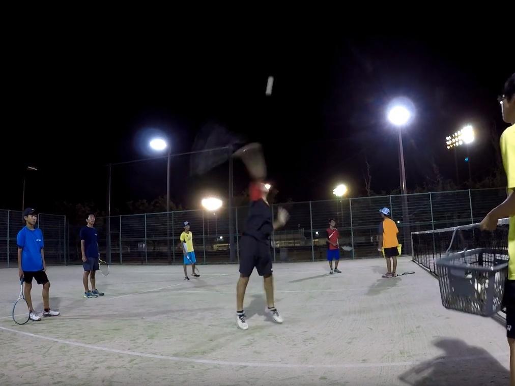 2018/08/10(金) 練習会 プラスワン・ソフトテニス