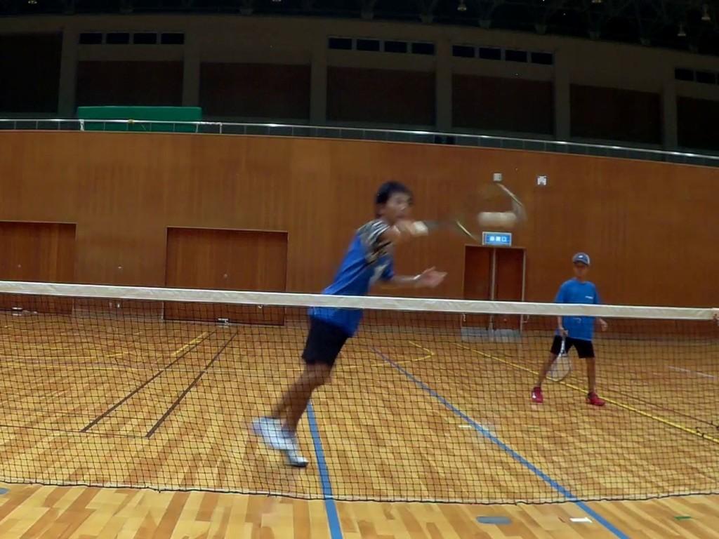2018/08/22(水) 初心者練習会 プラスワン・ソフトテニス