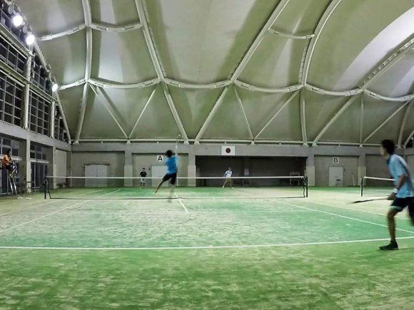 2018/08/23(木) 練習会に参加してきました。[動画] プラスワン・ソフトテニス