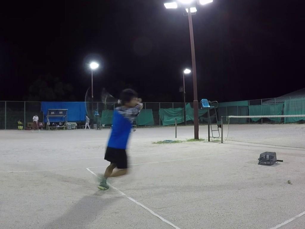 2018/08/30(木)夜間 出張個別練習会@滋賀県近江八幡市 プラスワン・ソフトテニス