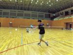 2018/09/10(月)夜間 練習会 プラスワン・ソフトテニス